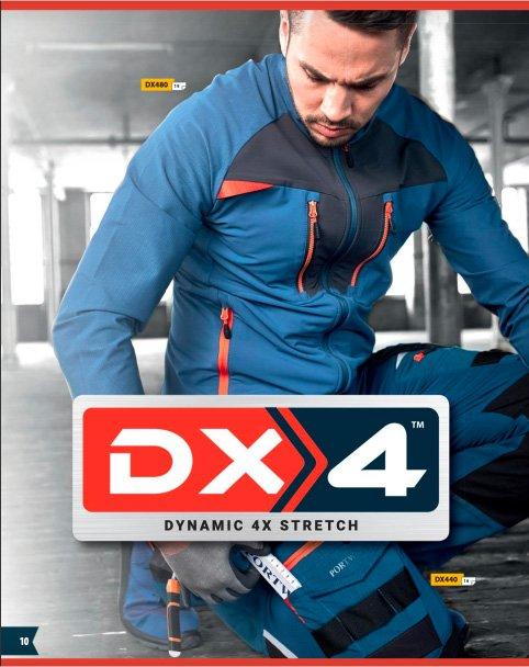 Nueva línea vestuario laboral Dinamic 4x de Portwest