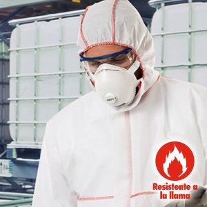 preotección química con Ropa desechable steelgen 1000fr