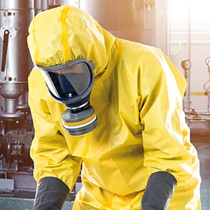 preotección química Ropa desechable steelgen 5000