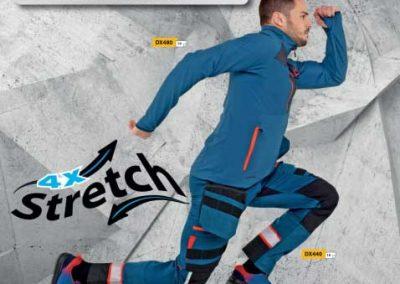 Poster Vestuario profesional línea Dinamic 4X de PortWest