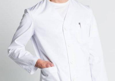 chaqueta clásica sanitario