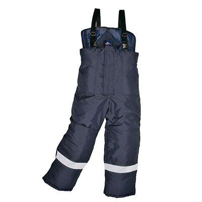Pantalón para congelador. Ropa de protección frente a frío extremo