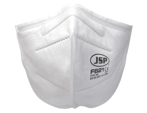 JSP F621: Mascarilla FFP2 homologada con la normativa CE 149:2001+A1:2009