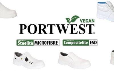 Tu próximo calzado de protección puede ser vegano con Portwest